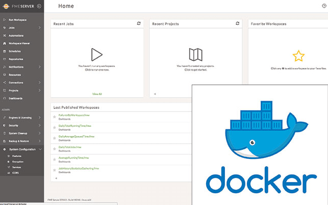 FME Server sur Docker