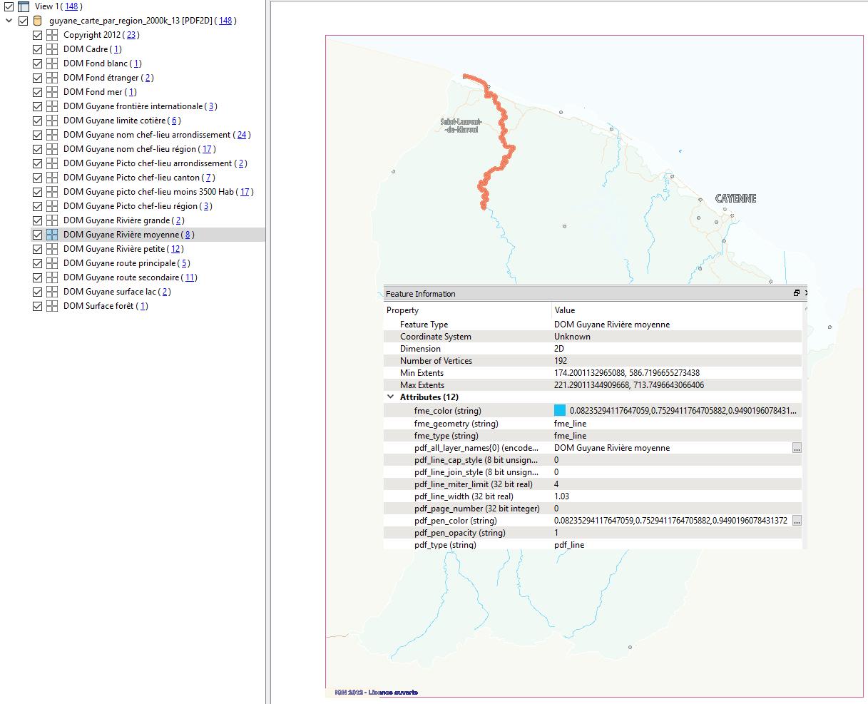 Fichier PDF dans Data Inspector