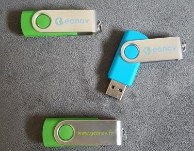 Clés USB de Geonov